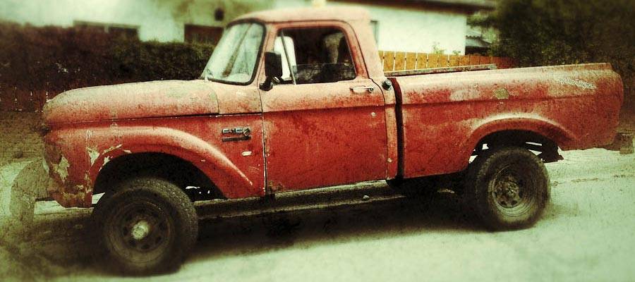 Portrait of a Ford F-150 in Argentina