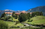 The Llao Llao Resort Hotel and Spa commands the entire area.