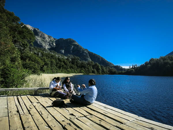 Lago Escondido - a fantastic 'secret' lake in the middle of the forest