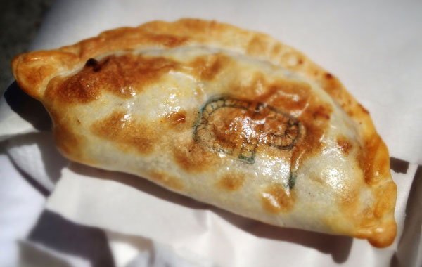 Empañadas are cheap, filling and best served warm.