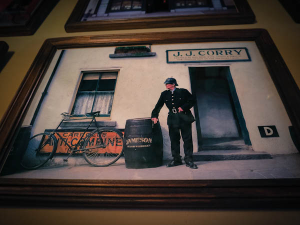 Photo of an Irish pub