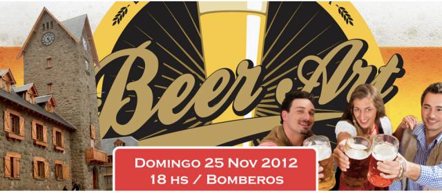 Bariloche Beer Art Poster