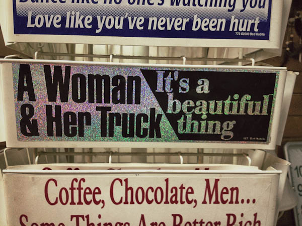 One day I will have a little truck of my own, and then I know I'm going to be sorry I didn't buy this sticker.