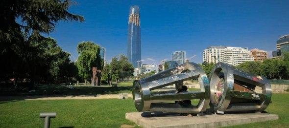 parque de las esculturas santiago de chile