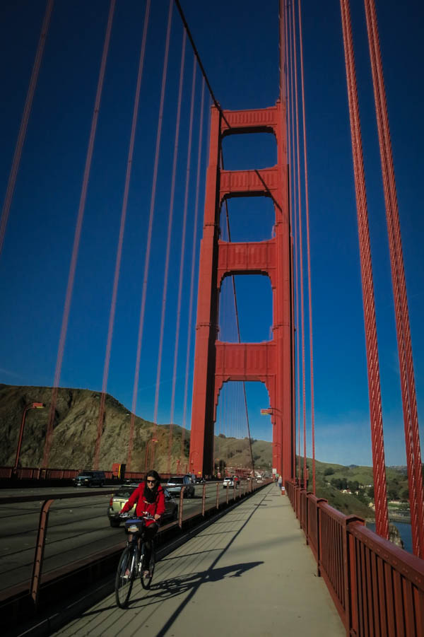 This is the best way to check out The Golden Gate Bridge.