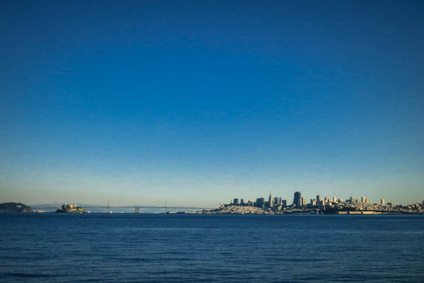 San Francisco seen from Sausalito.